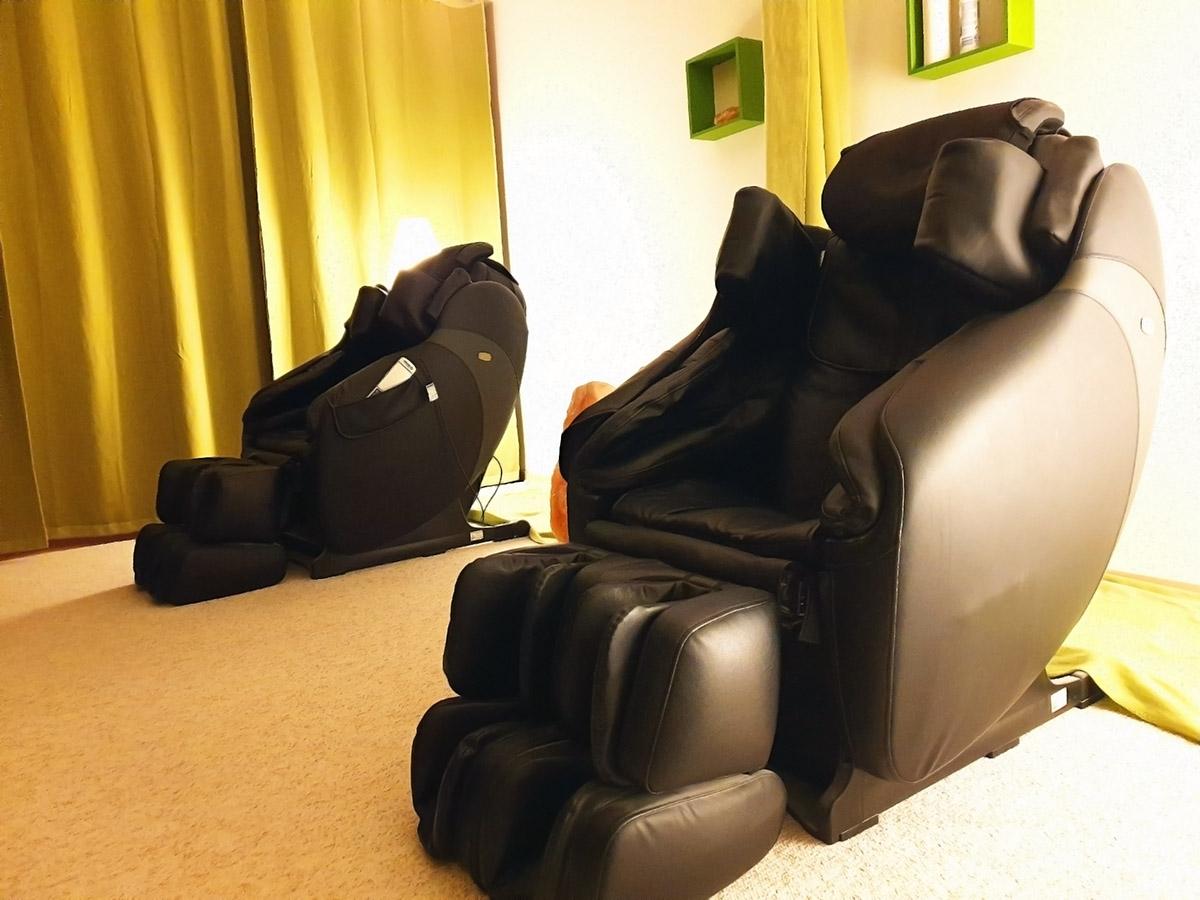 Massagesessel in der Kemptner Salzgrotte
